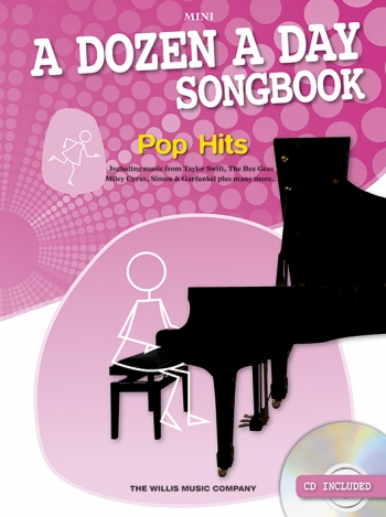 A Dozen A Day Songbook Mini: Pop Hits: Book & Cd