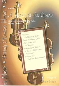 A Night At The Opera: Violin Quartet: Score & Parts