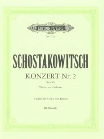 Concerto No 2 Violin & Piano  (Peters)