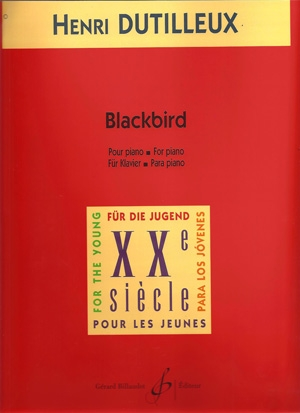 Blackbird: Piano  (Billaudot)