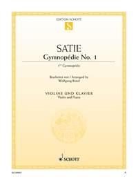 Gymnopedie No 1: Violin & Piano (Schott)