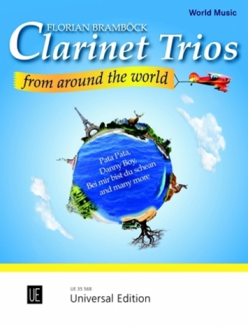 Clarinet Trios From Around The World: Score & Parts