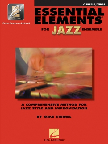 Essential Elements For Jazz Ensemble: C Treble/Vibes  Bk&cd