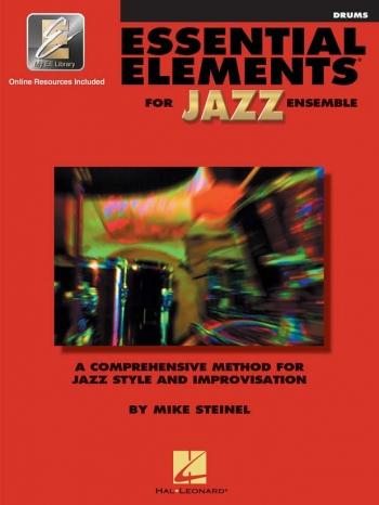 Essential Elements For Jazz Ensemble: Drum Bk & cd