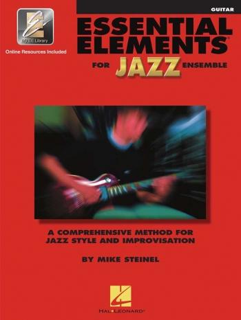 Essential Elements For Jazz Ensemble: Guitar Bk&cd
