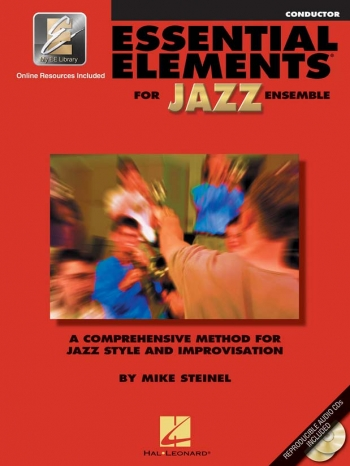 Essential Elements For Jazz Ensemble: Conductor Bk&cd