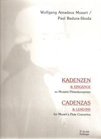 Mozart: Concerto Cadenzas & Lead Ins: Flute Solo (Doblinger)
