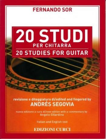 20 Studies For Guitar (20 Studi Per Chitatta)