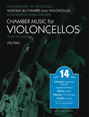 Chamber Music For Violoncellos Score & Parts Volume 14 (Pejtsik)
