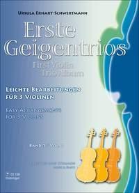 First Violin Trio Album: Easy Arrangements: 3 Violins