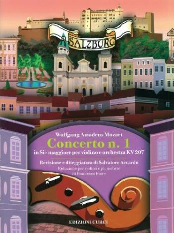 Violin Concerto No1 Bb Major K207: Violin & Piano (Curci