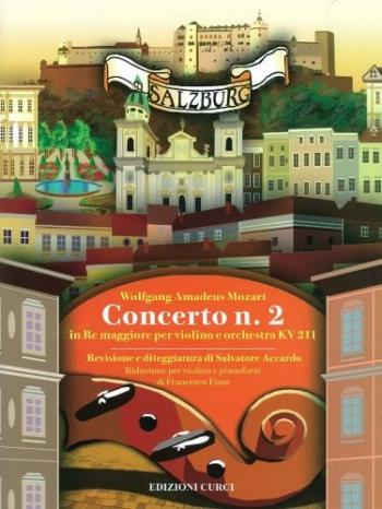 Violin Concerto No.2 D Major K211: Violin & Piano (Curci
