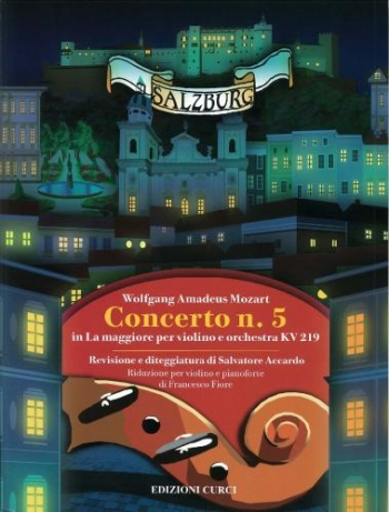 Violin Concerto No.5 E Major K219: Violin & Piano (Curci)