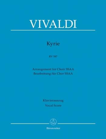 Kyrie RV587  SSAA: Vocal Score (Barenereiter)