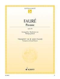 Pavane: Op50: Trumpet & Piano