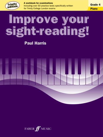 Improve Your Sight-Reading For Piano Trinity Edition Grade 4 (Paul Harris)