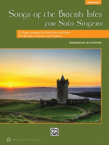 Songs Of The British Isles For Solo Singers: Medium High: Book & Cd