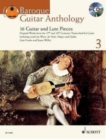 Baroque Guitar Anthology: Vol 3: Grades 3 - 4: Book & Cd