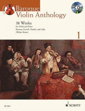 Baroque Violin Anthology: Vol 1: 38 Works Book & Cd