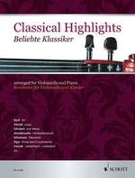 Classical Highlights Arr For Cello & Piano