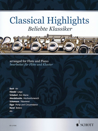 Classical Highlights Arr For Flute & Piano
