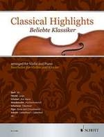 Classical Highlights Arr For Violin & Piano