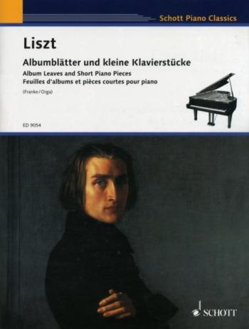 Album Leaves & Short Piano Pieces: Piano (Schott)