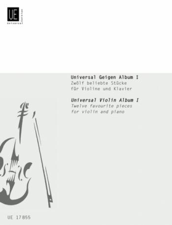 Universal Violin Album: Bk1: Violin & Piano