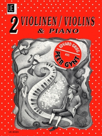 Peer Gynt For 2 Violins And Piano