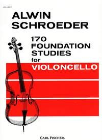 170 Foundation Studies For Violoncello Vo.1 (Fischer)