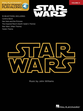 Easy Piano Play-Along: Star Wars:Vol 31 Bk&CD