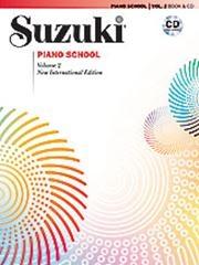 Suzuki Piano School Vol.2 Piano Book & Cd