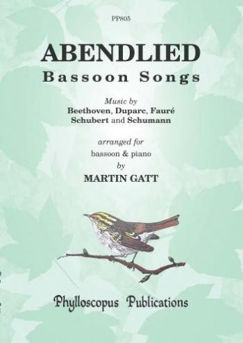 Abendlied: Bassoon Songs: Bassoon & Piano