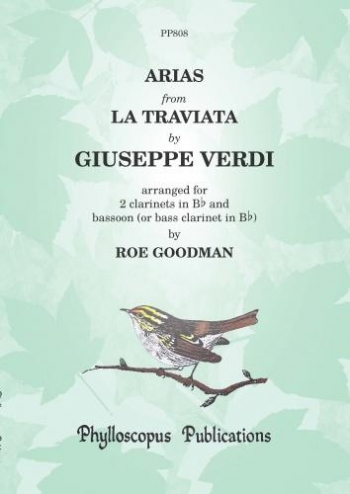 Arias From La Traviata: Two Clarinets And Bassoon