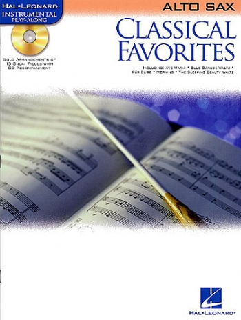 Classical Favourites: Alto Saxophone: Book & CD