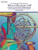 Classical Quartets For All: Percussion