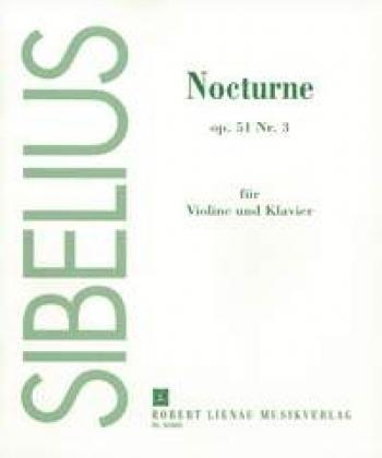 Nocturne Op51/3 Vln Pft:  Violin & Piano