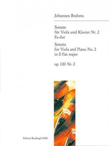 Sonata Eb Major Op.120/2: Viola & Piano (Breitkopf)