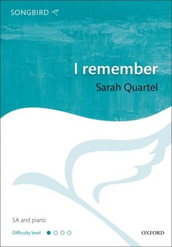 I Remember: Vocal: SA And Piano