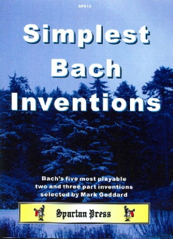 Simplest Bach Inventions: Piano