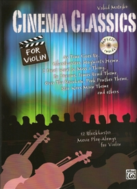 Cinema Classics: Violin: Book & Cd
