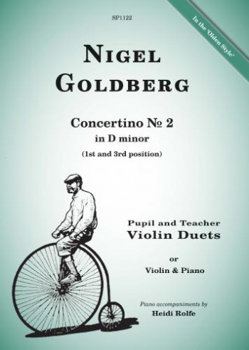 Concertino No. 2: D Minor: Pupil And Teacher Violin Duets