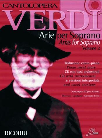 Cantolopera: Arias For Soprano Vol 2: Voice And Piano: Book & Cd