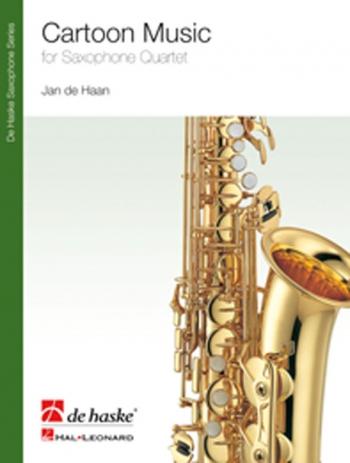 Cartoon Music: Saxophone Quartet: Score & Parts