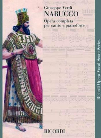 Nabucco (Nabucodonosor): Opera Vocal Score (Ricordi)