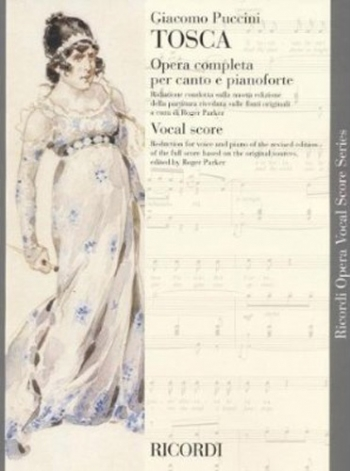 Tosca (Crit.Ed. English & Italian Foreword): Opera Vocal Score (Ricordi)