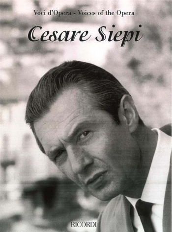 Voices Of The Opera Cesare Siepi (bass) Voice & Piano