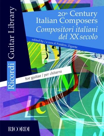 20th Century Italian Composers Vol 2: Guitar (Ricordi)