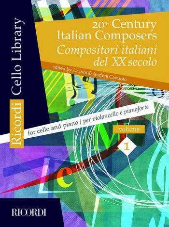 20th Century Italian Composers: Cello & Piano (Ricordi)