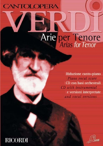 Cantolopera: Arias For Tenor Vol 1: Cantolopera Gold Edition: Voice And Piano: Book & Cd